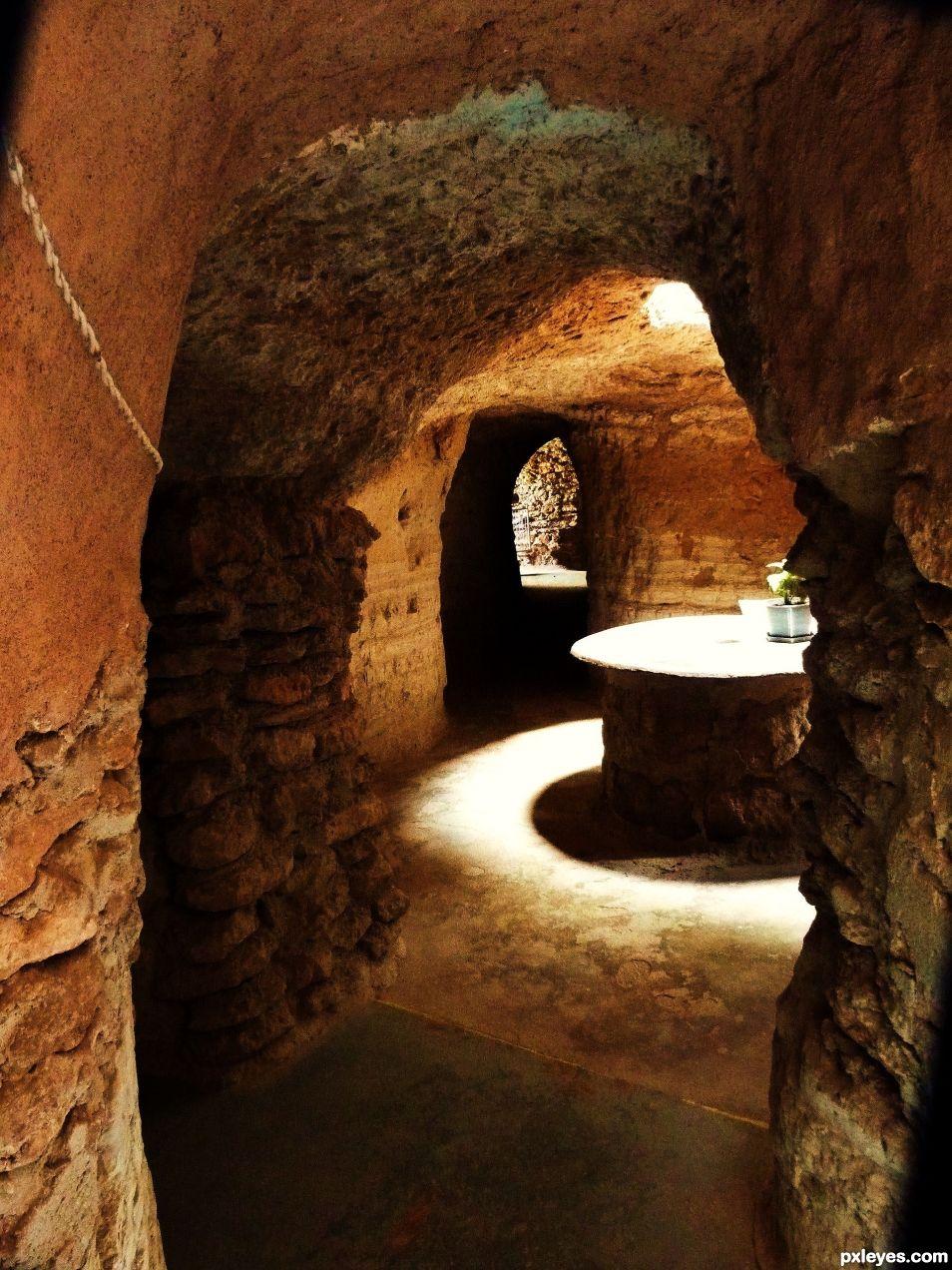 Subterranean Corridor