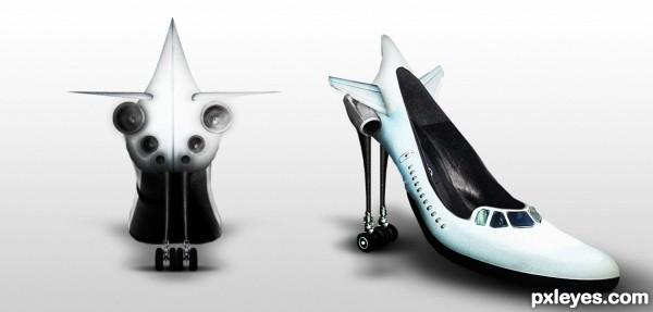 Air Plane Shoes