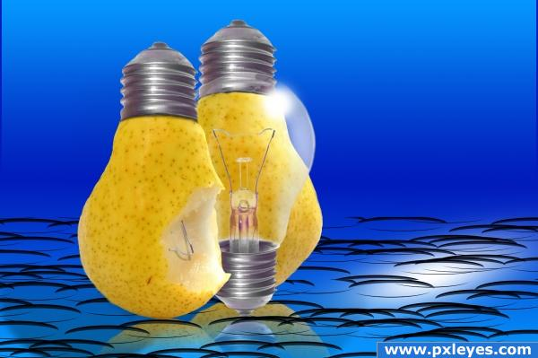 electric pear