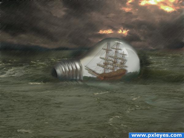 Ship in the Bulb