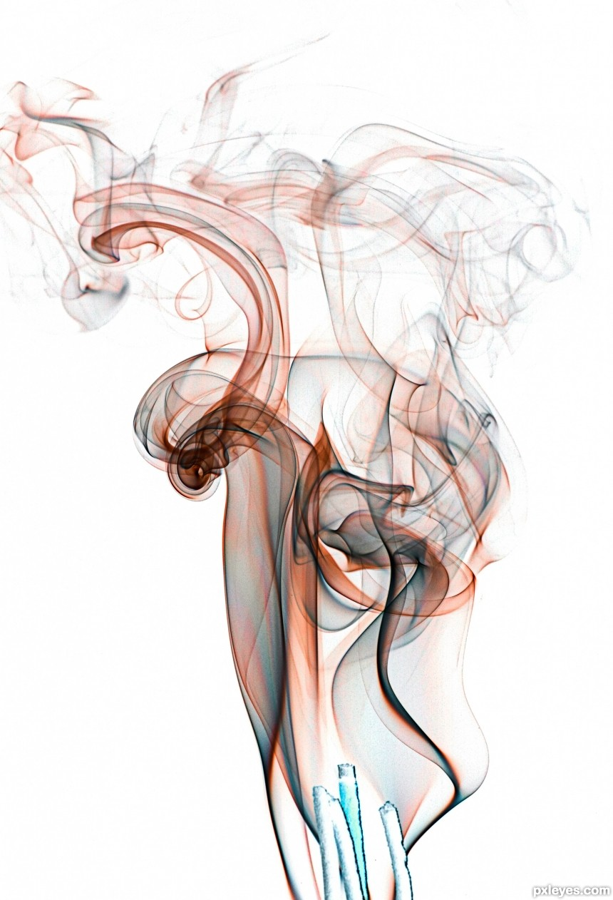 Fancy Smoke photoshop picture)