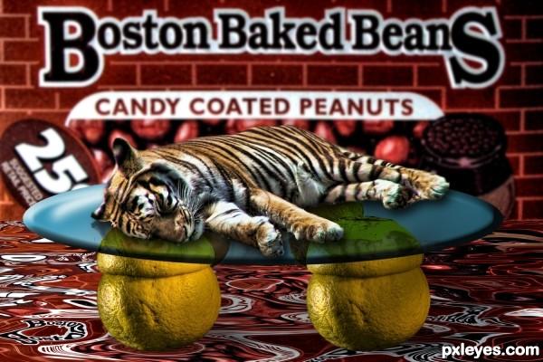Lemon Tiger Boston Baked Beans