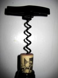 Curly cork screw
