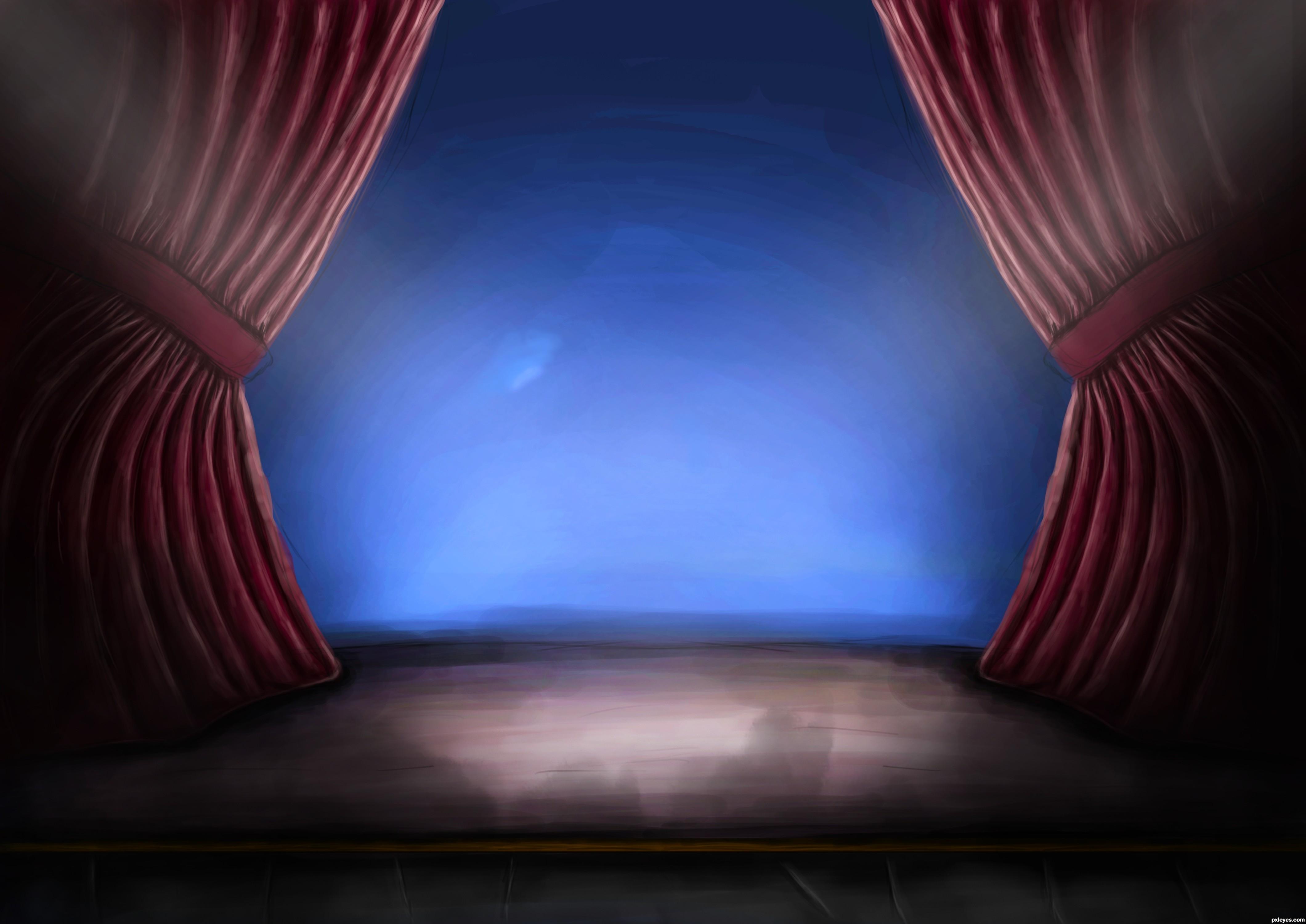 Stage curtain drawing - Stage Curtain Drawing Related Keywords Amp Suggestions