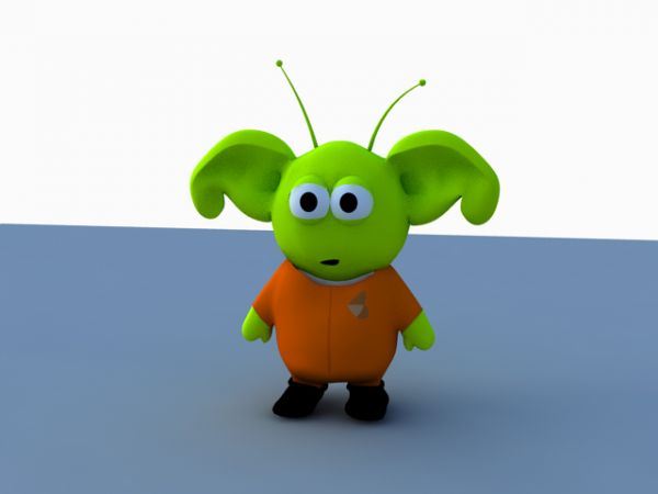 cute alien 