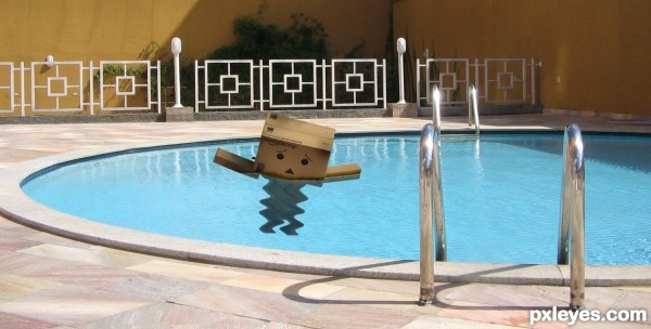 Danbo Dont Swim