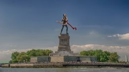Dancers statue