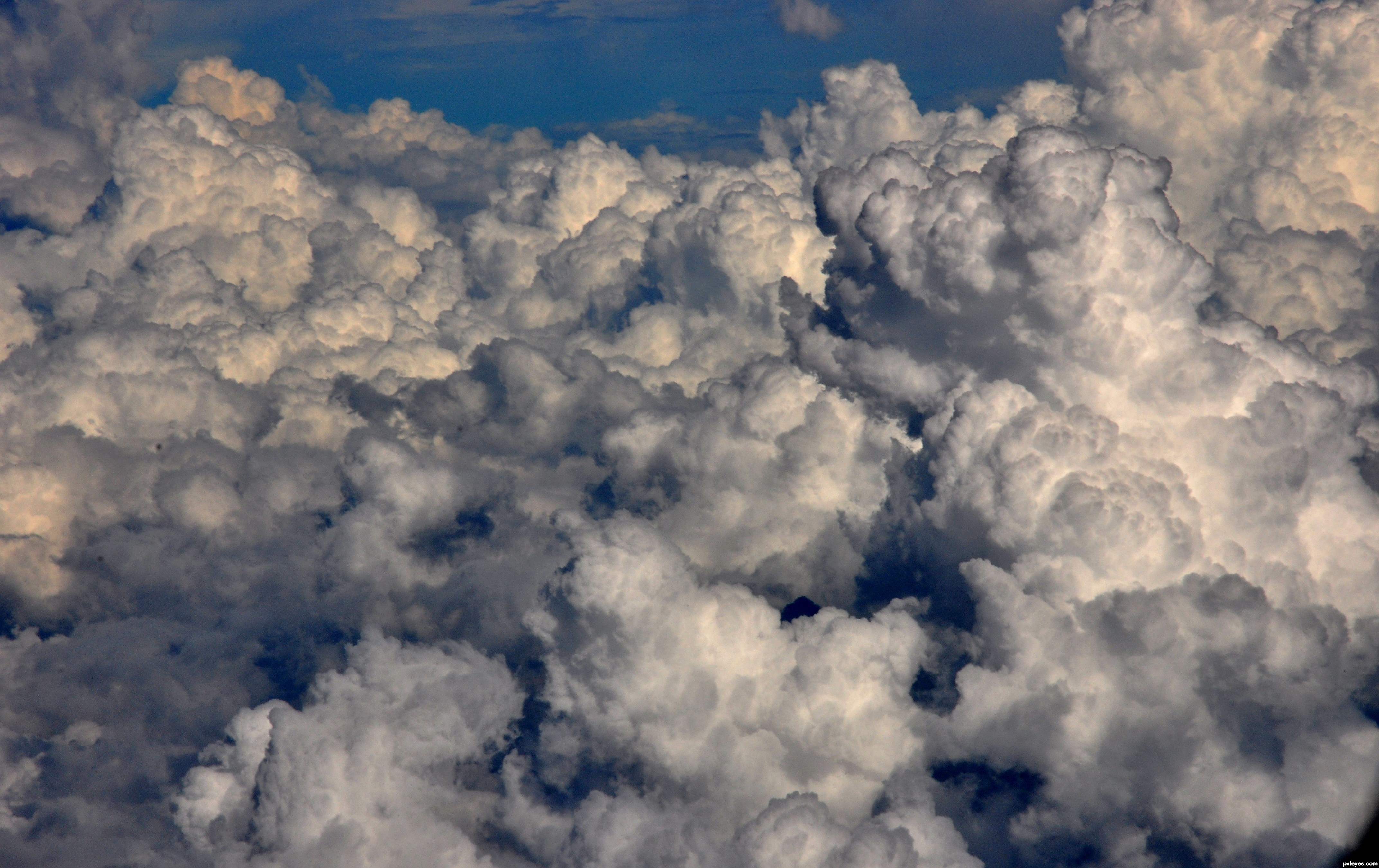 above the clouds picture, by 2xclick for: dark skies 2 ...