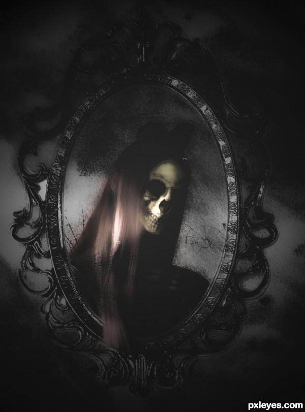 ghostly portrait