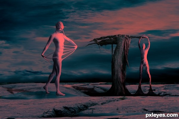 Self Delusion Illusion photoshop picture