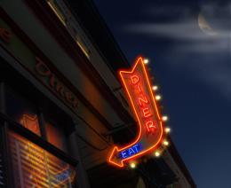 Diner at Night