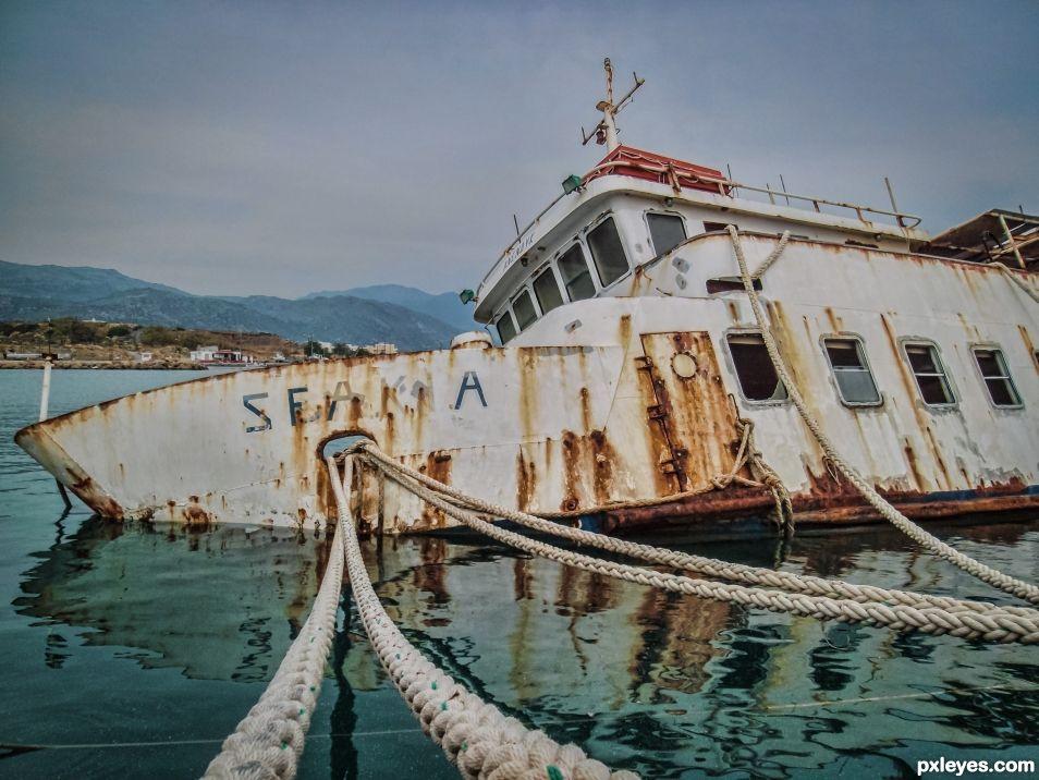 sinked voyage