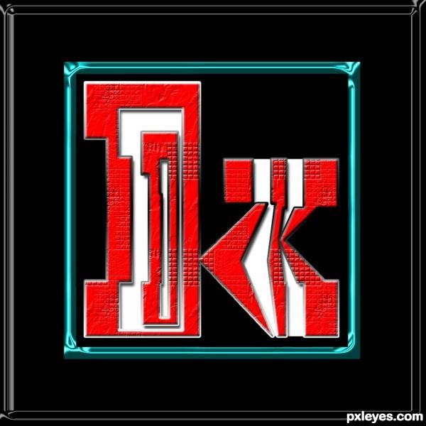 Letter K Monogram