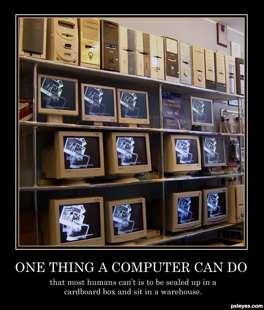One thing a computer can do