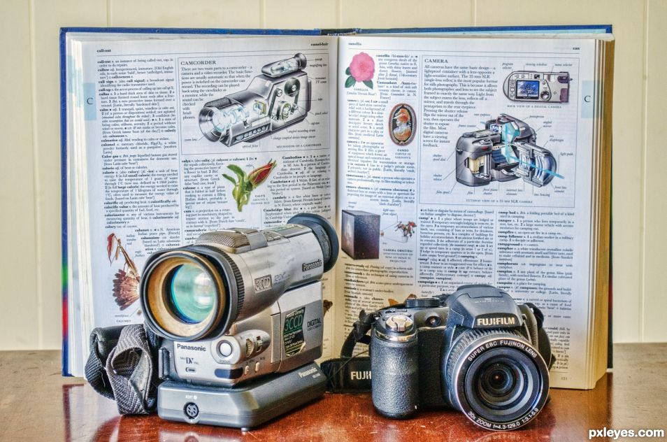 C is for camera and camcorder