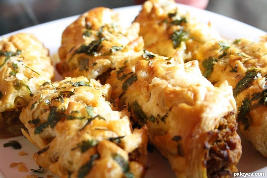 yummy.... veg rolls...... :)