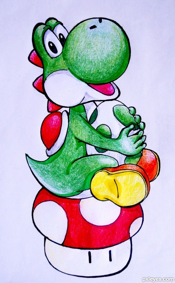 Yoshi and His Egg
