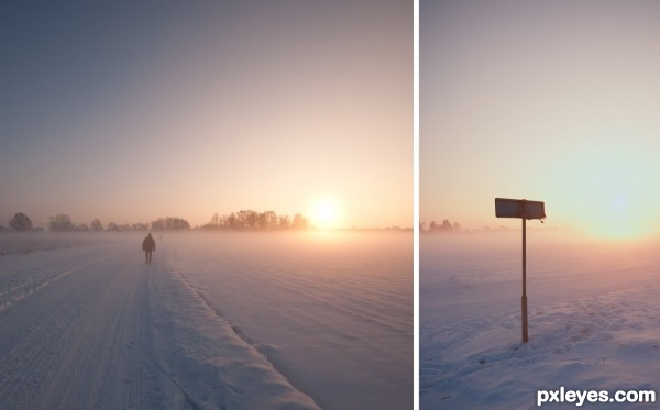 Missed road..