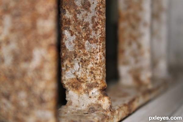 Strength Inside,Rust Outside