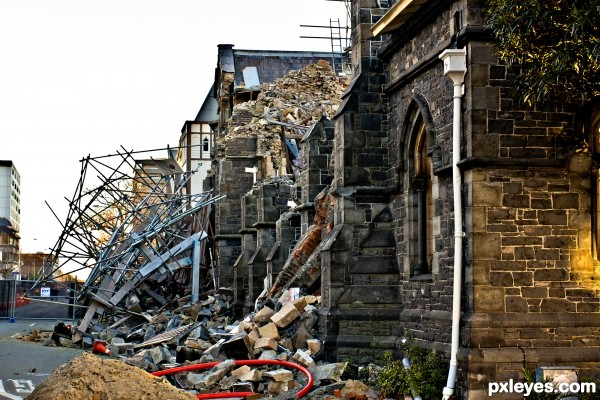 Earth Quake, Christchurch