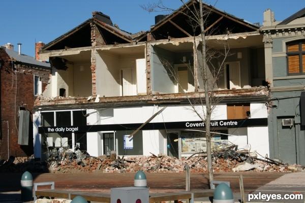 Earthquake Christchurch NZ