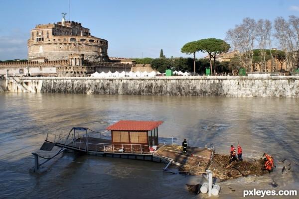Tiber flood