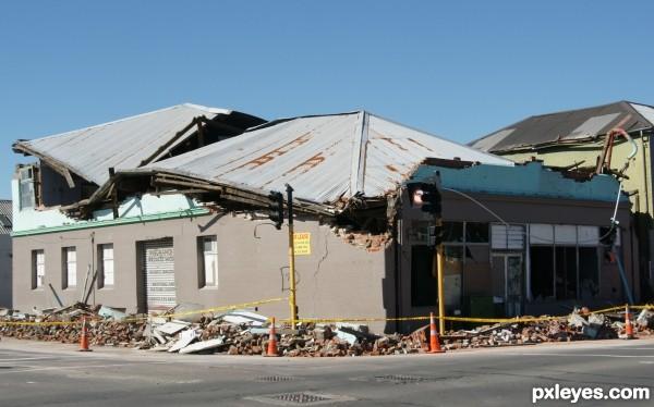 earthquake--insurance company