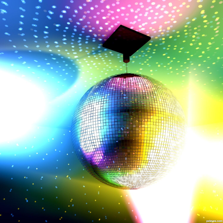 Свет для диско шара своими руками