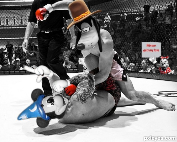 Mickey vs Goofy