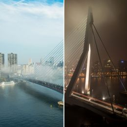 A day and a night over the bridge Picture