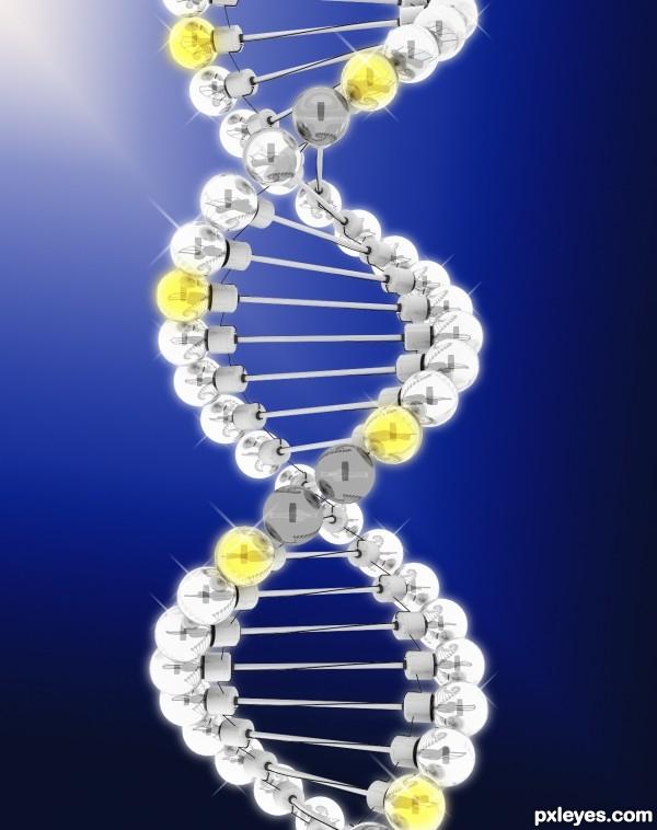 lighting DNA