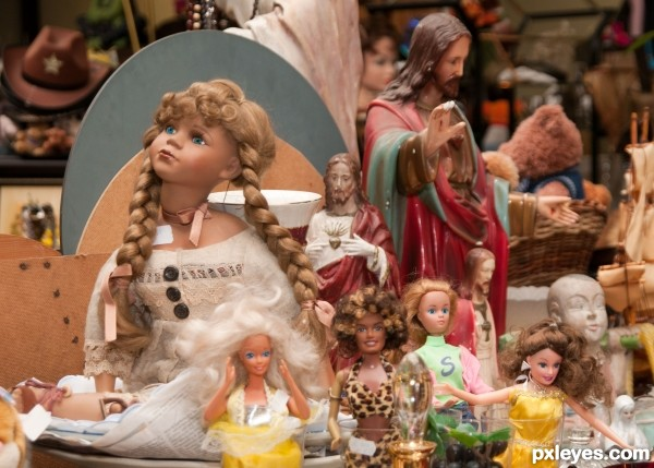 Flea Market Dolls
