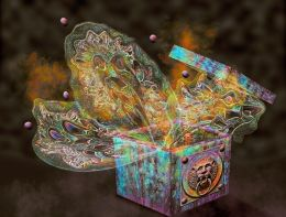 Pandoras Lion Box