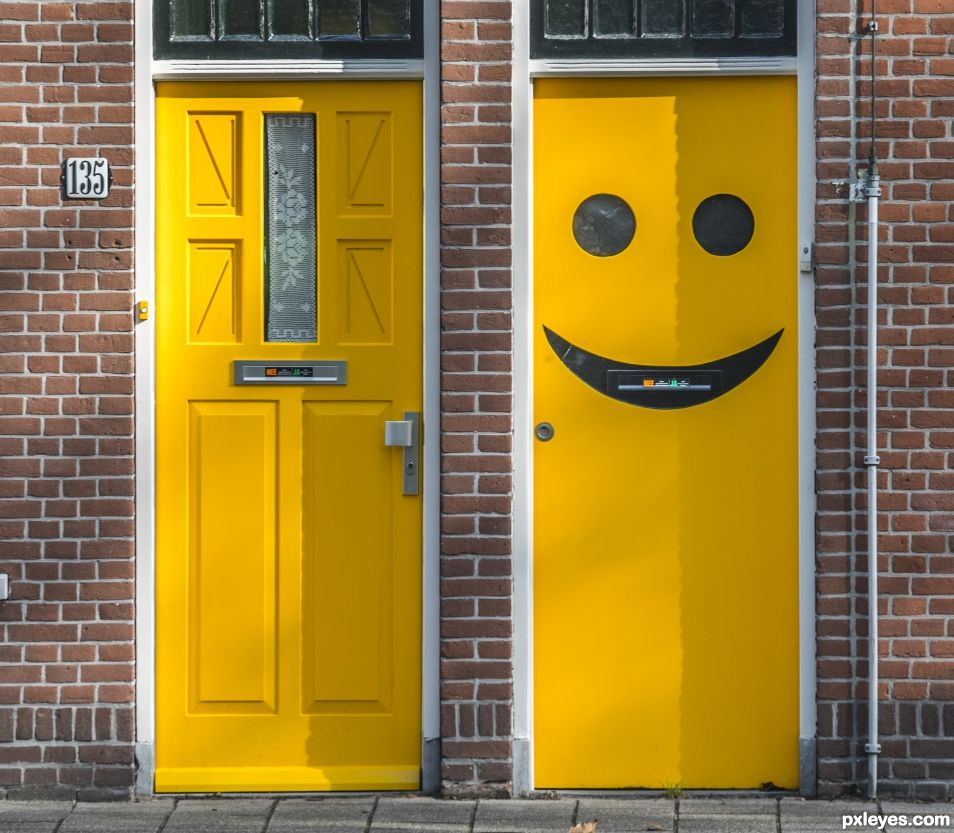 Door makes my day