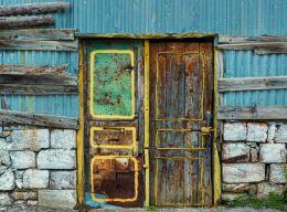 Happy door