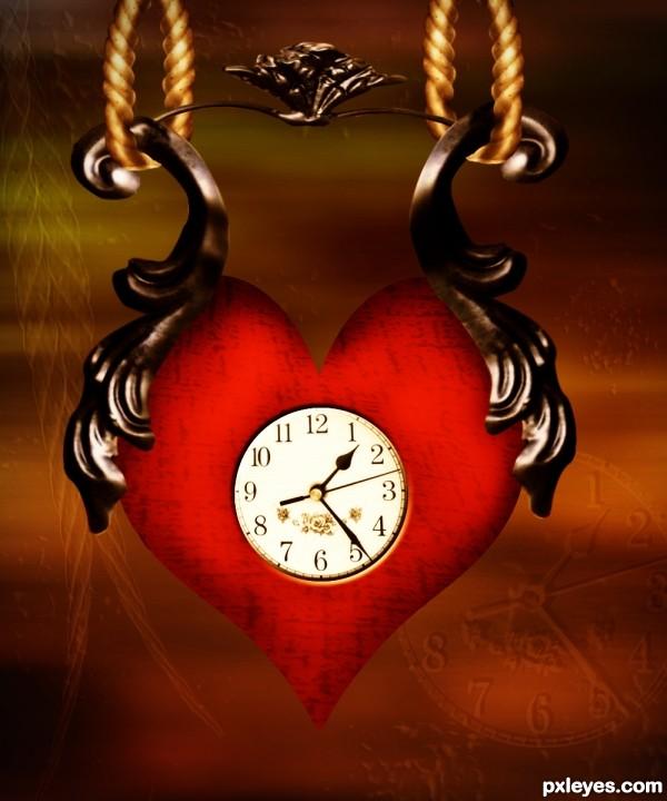 Hearth Clock