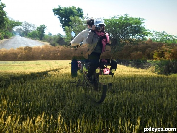 Ride on Grass