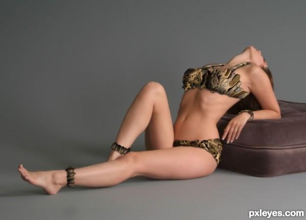 Double Rock Frame Bikini