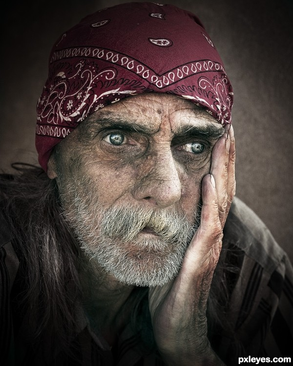 Homeless  photoshop picture)
