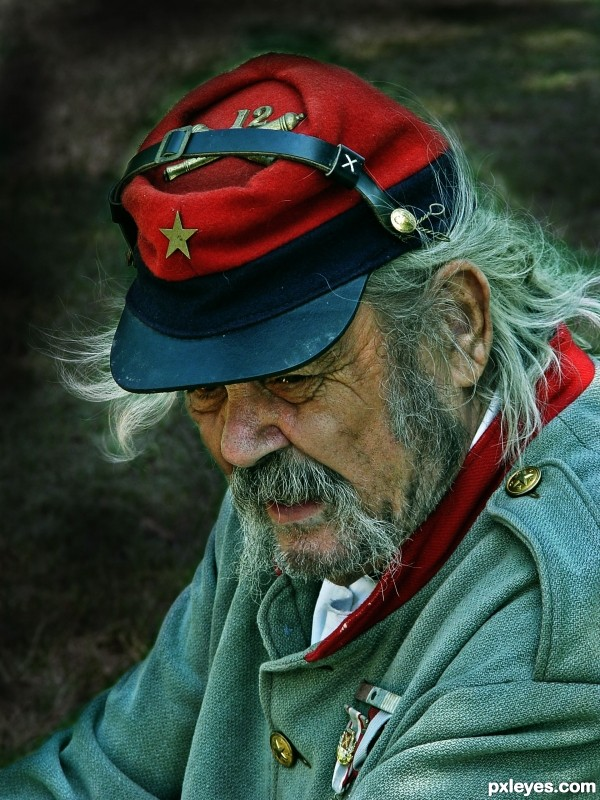 Old Soldier photoshop picture)