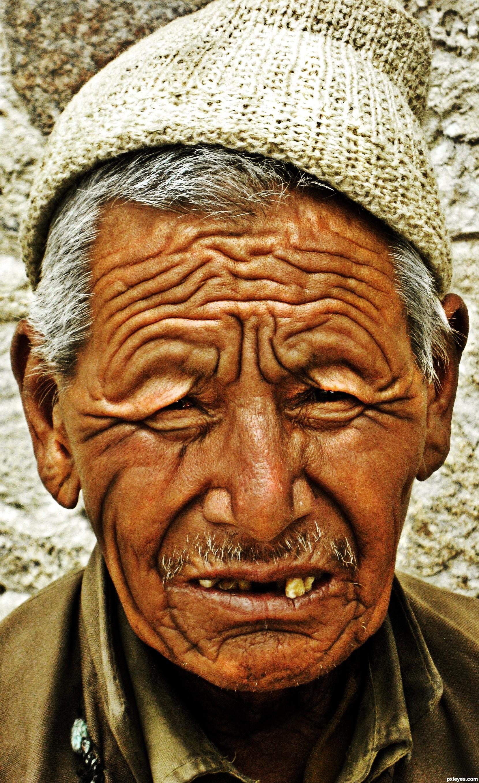 Wrinkle free face for men