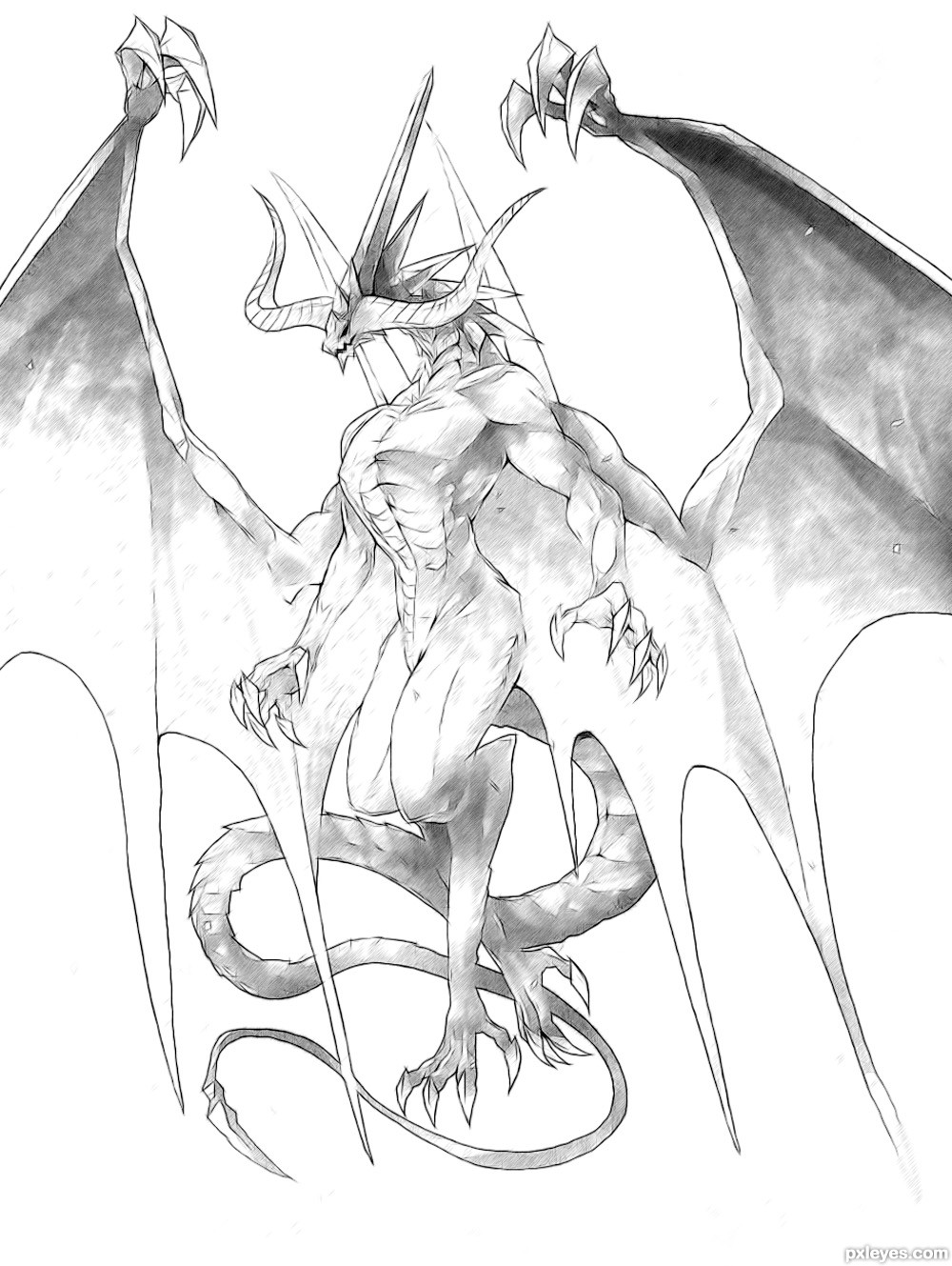 Drawing Contest Pictures of Dragon - Image Page 2 ...