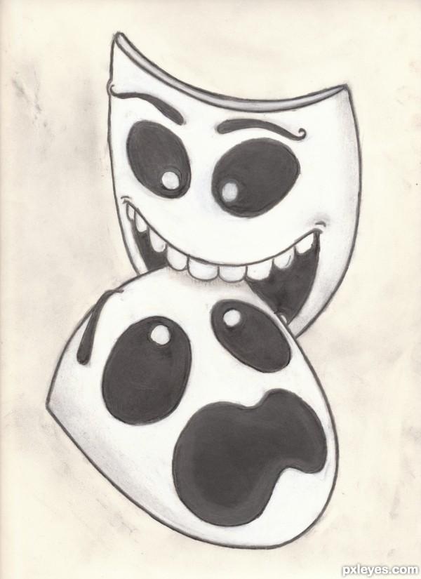 Bitey/terrified mask