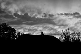Bizar sky