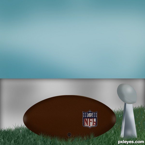 football ball drawing. fished a football ball.