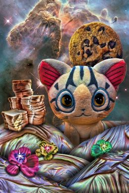 Sliced Bread, Chocolate Chip Cookie and Stuffed Kitten Scape