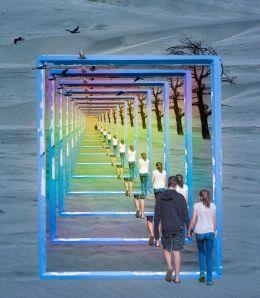 walk into the future