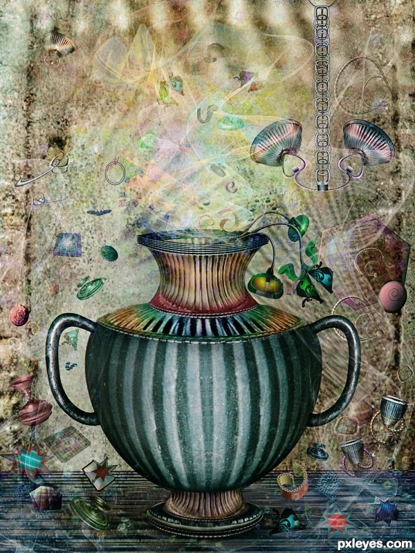 Amphora photoshop picture