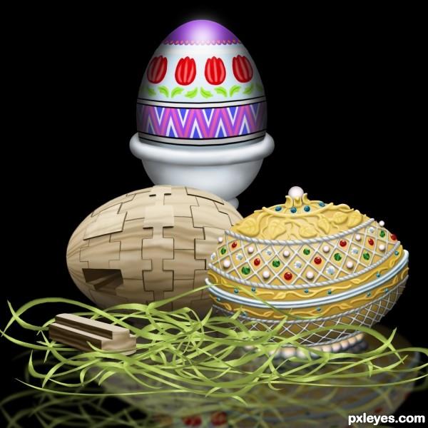 Eggs-travagant