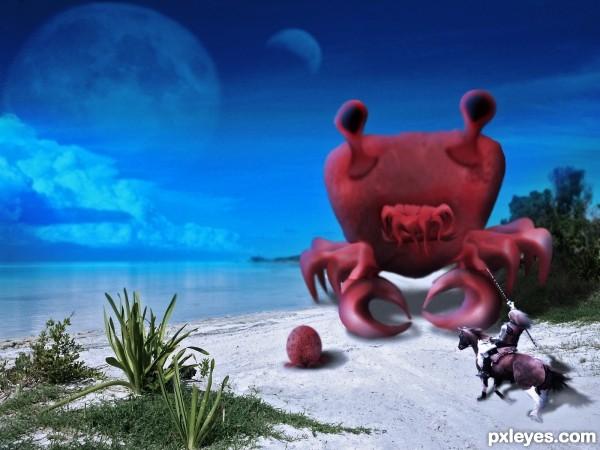 Crabby Alien